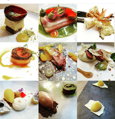 9 courses of a fine dining restaurant